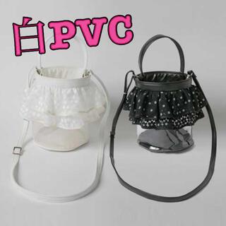 LUDLOW - セツコサジテール PVCバッグ シティ ホワイト 白