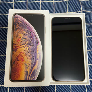 アップル(Apple)のiPhone Xs Max 256GB ゴールドSIMフリー【即購入可】(携帯電話本体)