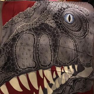 エルメス(Hermes)のエルメススカーフ AAAAARQH 恐竜(バンダナ/スカーフ)