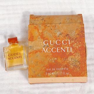 605/廃盤人気  GUCCIグッチ アチェンティ ACCENTI  香水5ml