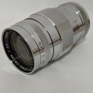 キヤノン(Canon)のCanon 135mm f3.5 L39マウント(レンズ(単焦点))