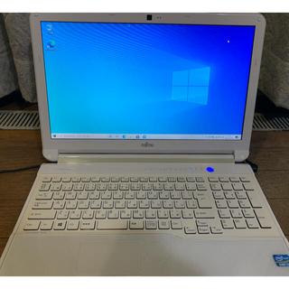 富士通 - Win10 富士通 AH53/K Core i7 メモリ4GB HDD750GB