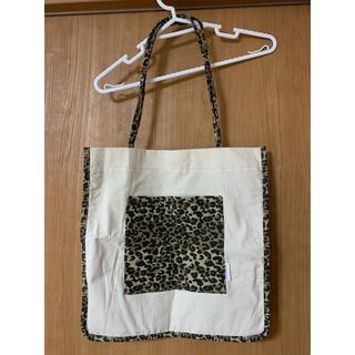 シマムラ(しまむら)のしまむら 未使用品 MUMU 豹柄キャンバストート(トートバッグ)