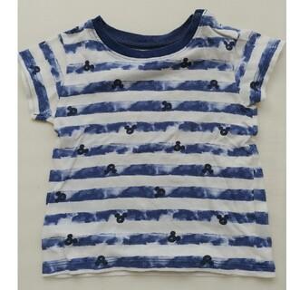 ディズニー(Disney)のキッズTシャツ ミッキー柄 80cm ユニクロ(Tシャツ)