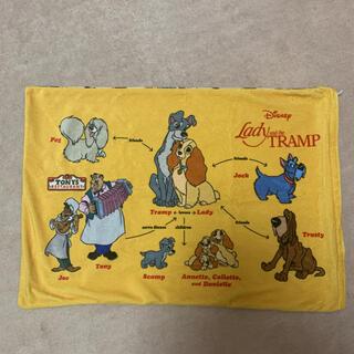 ディズニー(Disney)のわんわん物語 レディ トランプ 枕カバー(シーツ/カバー)
