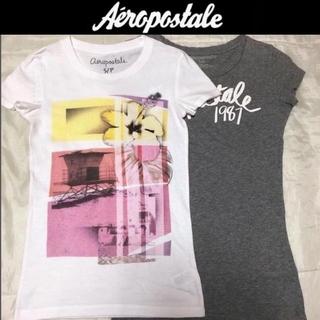 エアロポステール(AEROPOSTALE)の美品☆エアロポステール半袖Tシャツ2着セットSアバクロンビー&フィッチホリスター(Tシャツ(半袖/袖なし))