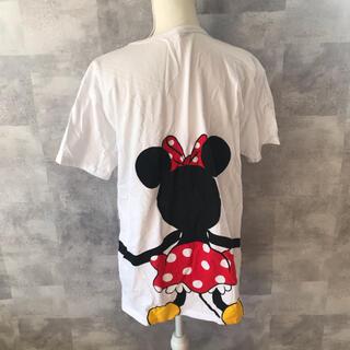 ディズニー(Disney)のミッキーマウス ミニーマウス おそろい ペアルック Tシャツ LL(Tシャツ(半袖/袖なし))