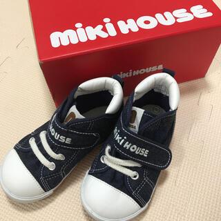 mikihouse - ミキハウス デニム 靴 15cm 15.0 スニーカー