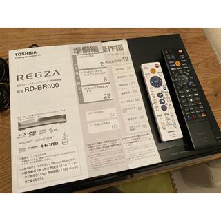 東芝 - TOSHIBA REGZA レグザブルーレイ RD-BR600