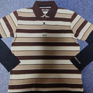 オークリー(Oakley)のオークリー OAKLEYゴルフ用長袖ポロシャツ(ウエア)