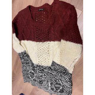 ワンウェイ(one*way)のセーター oneway(ニット/セーター)