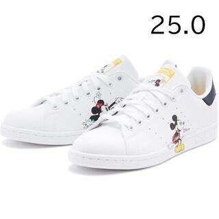 アディダス(adidas)の【完売品】アディダス スタンスミス ミッキー 25cm GW2250(スニーカー)