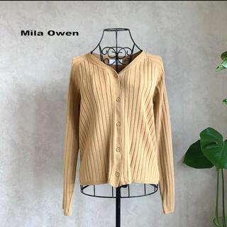 Mila Owen - 【美品】ミラオーウォン リブカーディガン