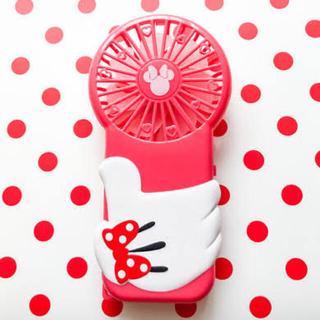 ディズニー(Disney)のミニー ハンディー扇風機  ゼクシィ 付録(扇風機)