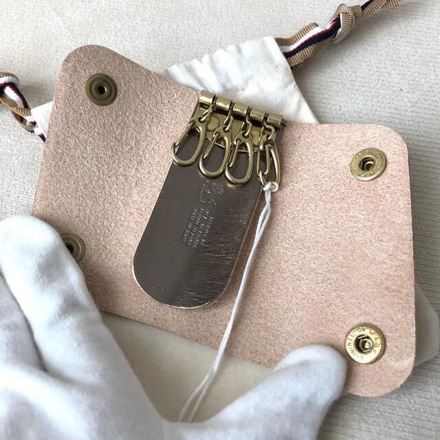 IL BISONTE(イルビゾンテ)の付属品付き新品★イルビゾンテ 2021年春夏新作 4連キーケース 限定色ゴールド メンズのファッション小物(キーケース)の商品写真