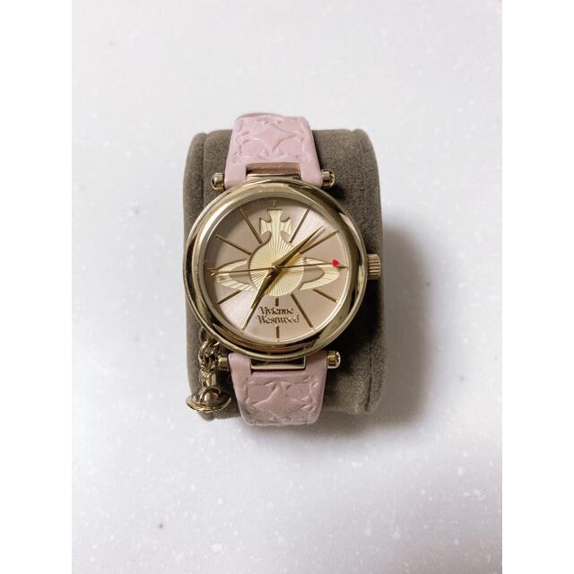 Vivienne Westwood(ヴィヴィアンウエストウッド)のヴィヴィアンウエストウッド  時計 Vivienne Westwood  ピンク レディースのファッション小物(腕時計)の商品写真