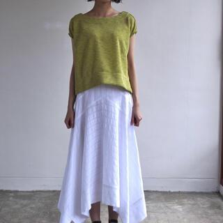 アビィ(avie)のミニマルニットTシャツ(Tシャツ(半袖/袖なし))