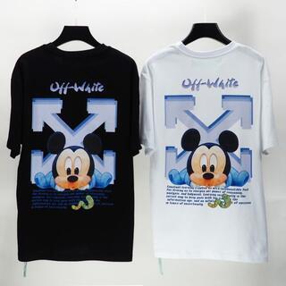 OFF-WHITE - 9000円2枚 オフホワイト Tシャツ 男女兼用 SX47