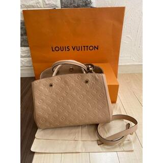 LOUIS VUITTON - LOUIS VUITTON  モノグラムモンテーニュMM