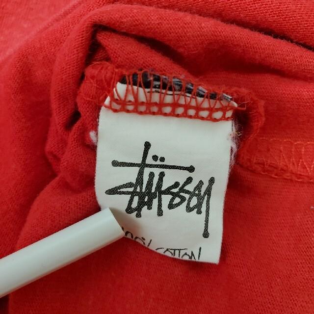 STUSSY(ステューシー)の【希少】 STUSSY 90s Tシャツ 紺タグ オールドSTUSSY USA製 メンズのトップス(Tシャツ/カットソー(半袖/袖なし))の商品写真