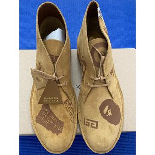 アベイシングエイプ(A BATHING APE)のBAPE x Clarks Desert Boots(ブーツ)
