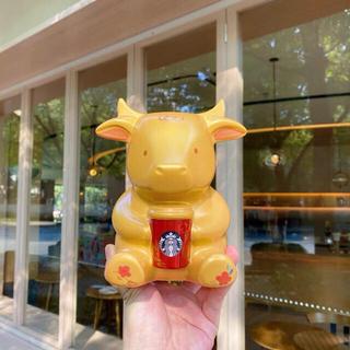 Starbucks Coffee - 日本未発売 スターバックス 貯金箱 牛