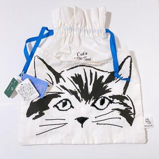 AfternoonTea - ◆新品未使用◆ アフタヌーンティー 猫 ネコ 巾着✨