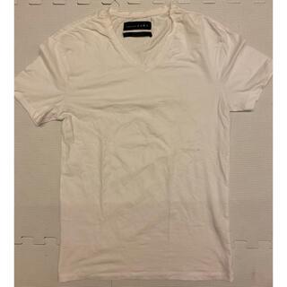 ザラ(ZARA)のザラ ZARA  Tシャツ ホワイト 白(Tシャツ/カットソー(半袖/袖なし))