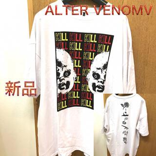 オルターべノム(ALTER VENOMV)のビッグTシャツ  両面プリントTシャツ  ALTER VENOMV(Tシャツ/カットソー(半袖/袖なし))