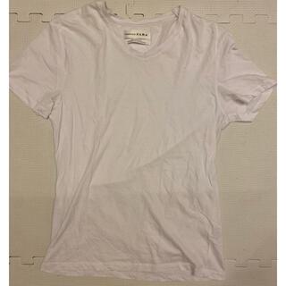 ザラ(ZARA)のザラ ZARA  Tシャツ 白 ホワイト(Tシャツ/カットソー(半袖/袖なし))
