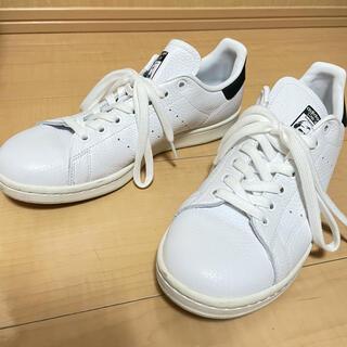 アディダス(adidas)のadidas スタンスミス スニーカー 26cm 白×黒(スニーカー)