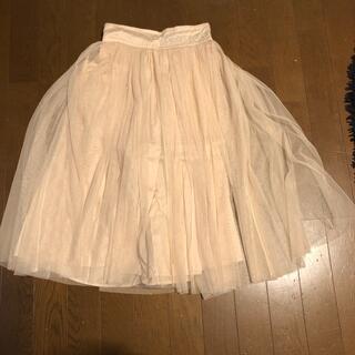 インナープレス(INNER PRESS)のチュールスカート(スカート)