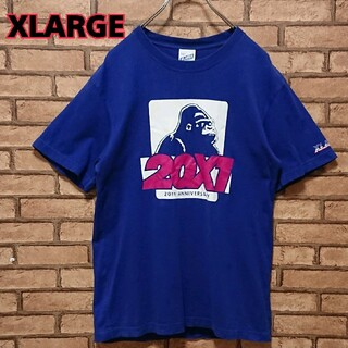 エクストララージ(XLARGE)のXLARGE エクストララージ フロント ビック ロゴ メンズ 半袖 Tシャツ(Tシャツ/カットソー(半袖/袖なし))