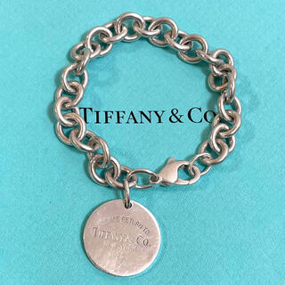 Tiffany & Co. - リターントゥティファニー サークルチャーム ブレスレット スターリング925
