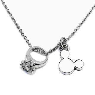 ディズニー(Disney)のネックレス ディズニー 4月 クリスタル(ネックレス)