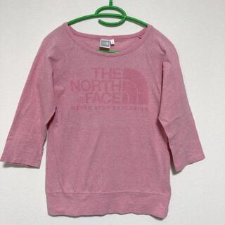 ザノースフェイス(THE NORTH FACE)の美品 ノースフェイス トップス(Tシャツ(長袖/七分))