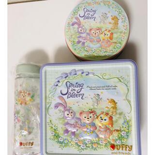 Disney - ディズニー ダッフィー スプリングインブルーム  お菓子 スーベニアボトル