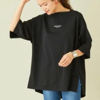 Americana アメリカーナ  ワイドスリット Tシャツ