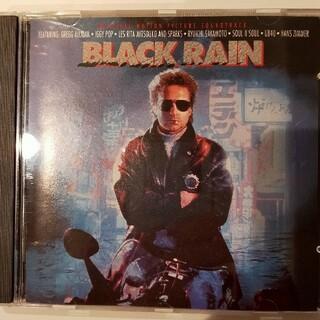 映画Black Rain オリジナルサウンドトラック輸入盤CD(映画音楽)