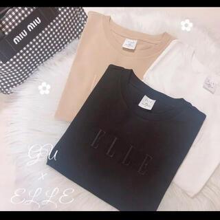 GU ELLE Tシャツ ブラック