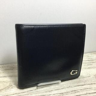 Gucci - GUCCI  グッチ 折り畳み財布 カーフレザー ブラック
