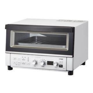 タイガー(TIGER)のマットホワイト やきたて [コンベクションオーブン&トースタ](調理機器)