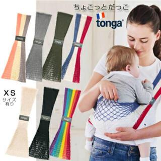 tonga - トンガ tonga fit Paris Lサイズ 抱っこ紐