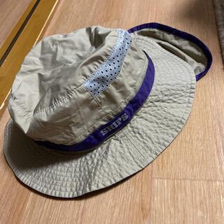シップスキッズ(SHIPS KIDS)のSHIPS KIDS UVカット 撥水 サファリハット(帽子)