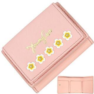 ジミーチュウ(JIMMY CHOO)の3412 ジミーチュウ 財布 ミニ財布 三つ折り財布 ネモ フラワーガーデン(財布)