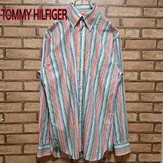 トミーヒルフィガー(TOMMY HILFIGER)のTOMMYHILFIGER トミーヒルフィガー マルチカラー ストライプ シャツ(シャツ)
