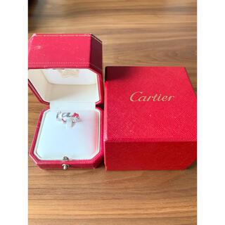 Cartier - カルティエCartier シグネチャーリングK18 ロゴリング 10号