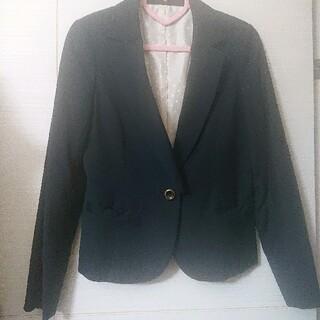アストリアオディール(ASTORIA ODIER)のASTORIA リボンポケットジャケット ネイビー(テーラードジャケット)