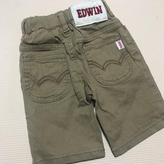 EDWIN(エドウィン)のEDWINハーフパンツ キッズ/ベビー/マタニティのベビー服(~85cm)(パンツ)の商品写真