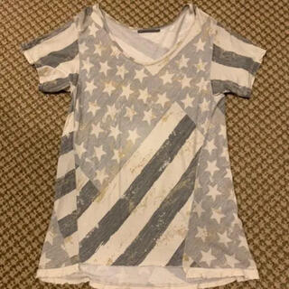 アウラアイラ(AULA AILA)のAULA AILA ダメージ風Tシャツ(Tシャツ(半袖/袖なし))